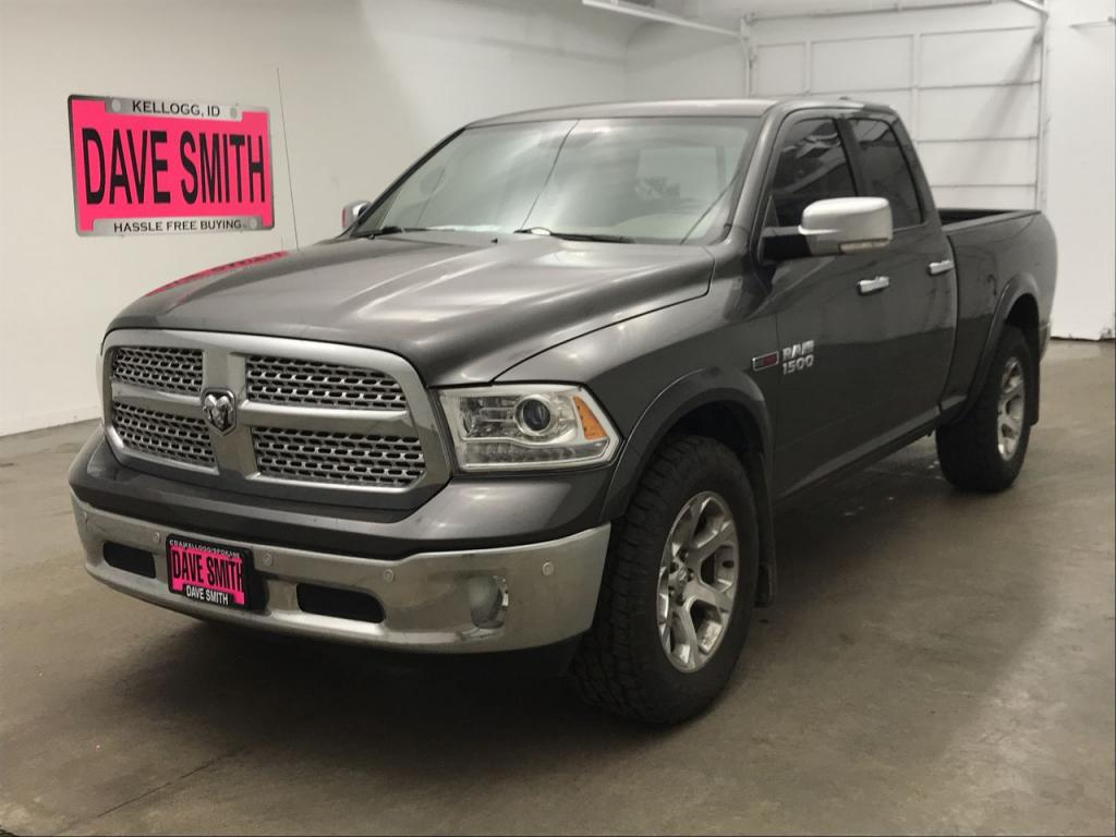 Pre-Owned 2014 Ram 1500 Laramie Quad Cab Short Box