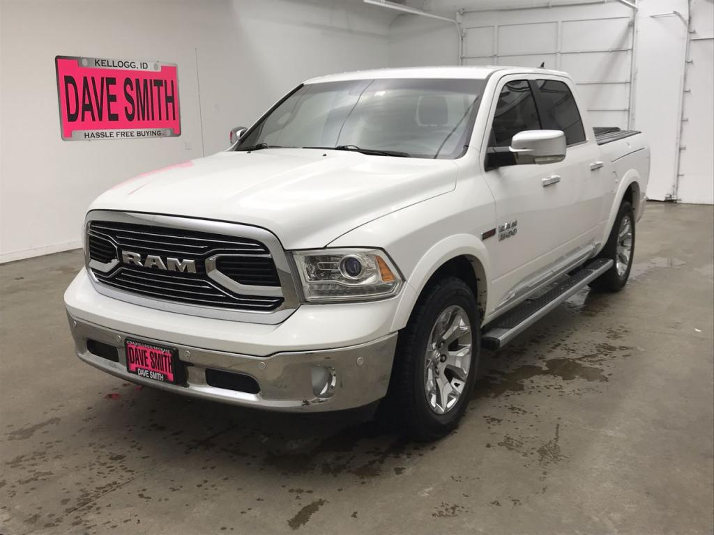 Pre-Owned 2015 Ram 1500 Laramie Limited Crew Cab Short Box
