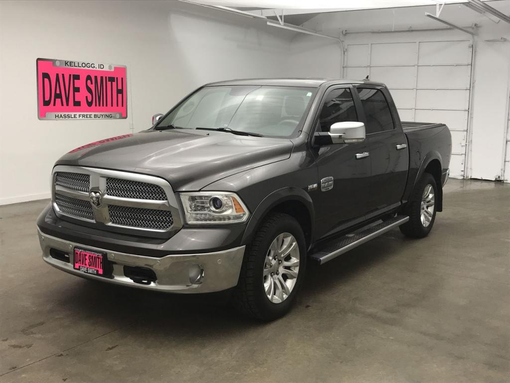 Certified Pre-Owned 2015 Ram 1500 Laramie Longhorn Crew Cab Short Box