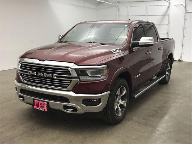 Pre-Owned 2019 Ram 1500 Laramie Crew Cab Short Box
