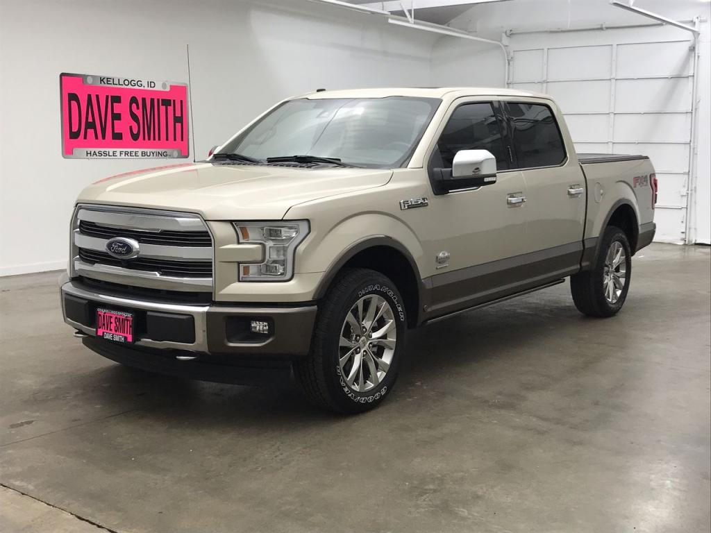 Pre-Owned 2017 Ford F-150 King Ranch Crew Cab Short Box