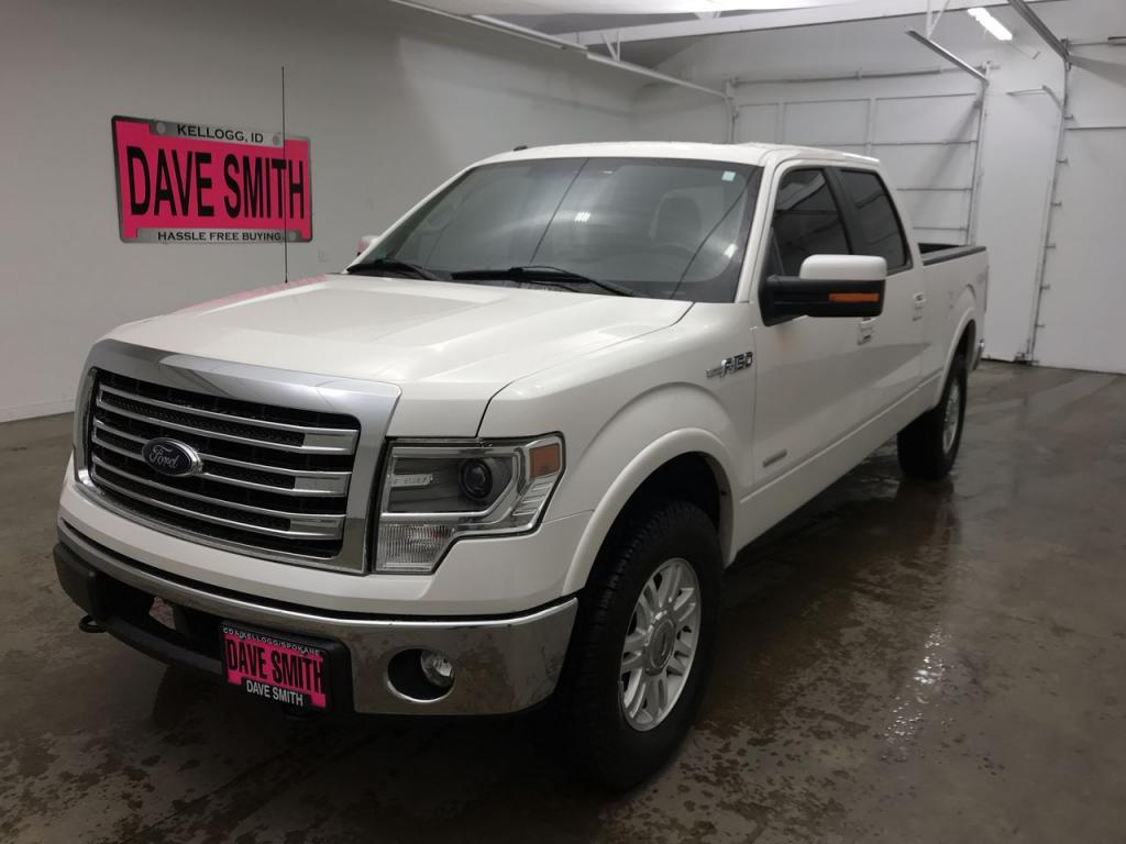 Pre-Owned 2013 Ford F-150 Lariat Crew Cab Short Box