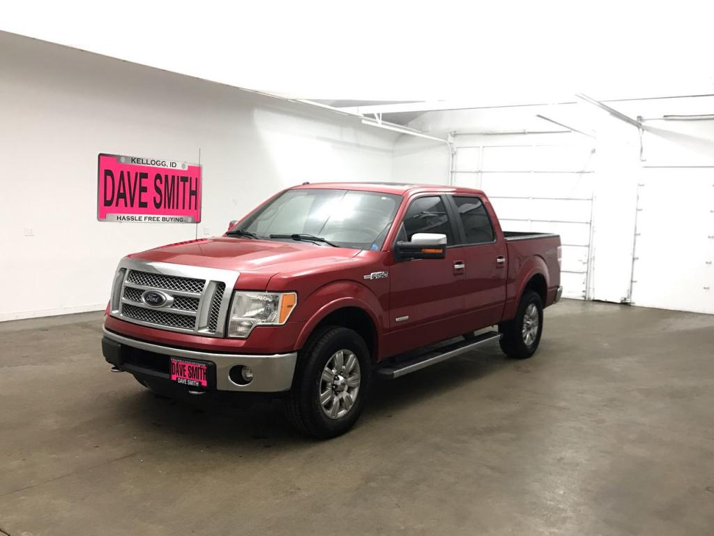Pre-Owned 2012 Ford F-150 Lariat Crew Cab Short Box