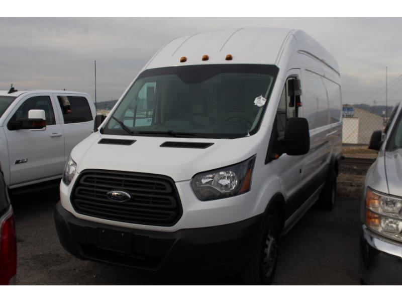 Pre-Owned 2015 Ford Transit Van T-350HD EL High Roof Slide Base