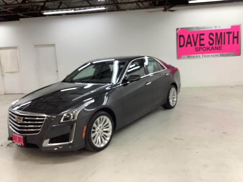 Pre-Owned 2018 Cadillac CTS Luxury AWD