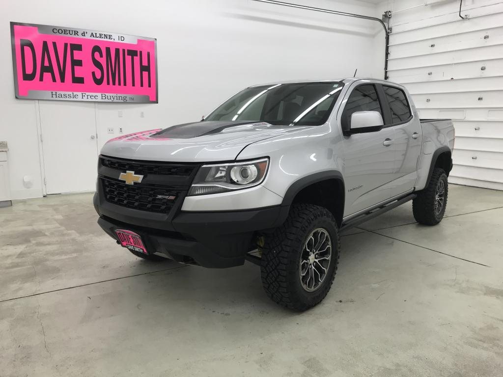 Pre-Owned 2018 Chevrolet Colorado ZR2 Crew Cab Short Box