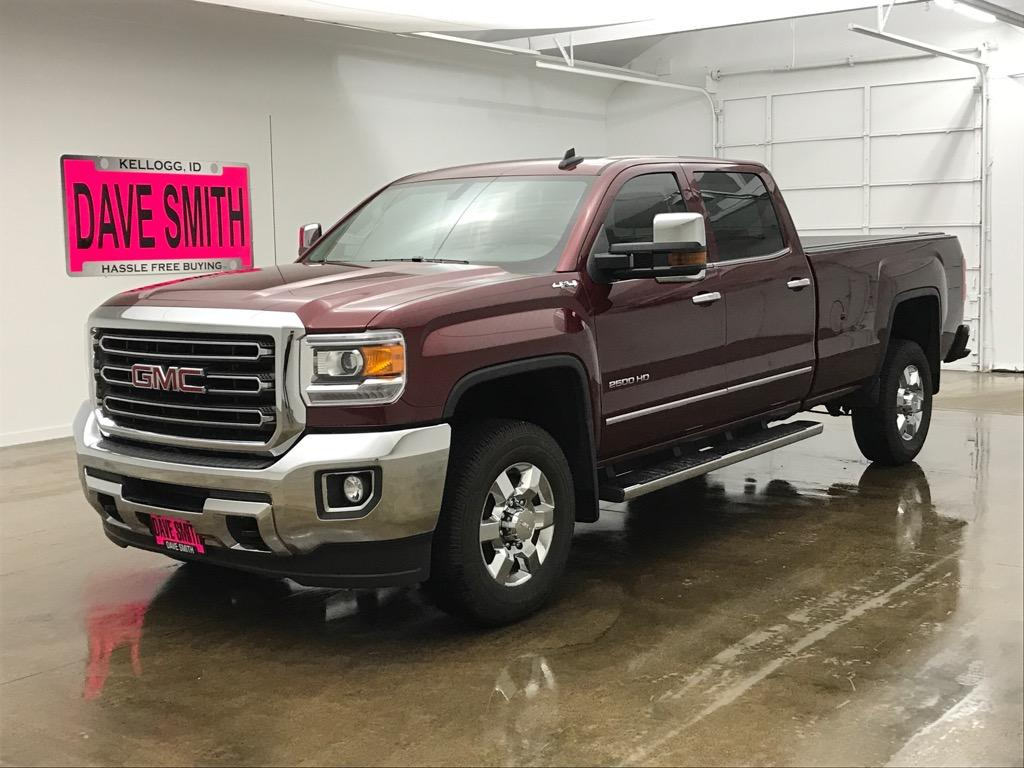 Pre Owned 2017 Gmc Sierra 2500 Slt Crew Cab Long Box
