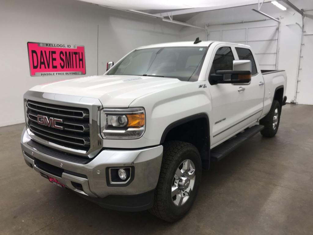 Pre-Owned 2015 GMC Sierra 3500 SLT Crew Cab Short Box
