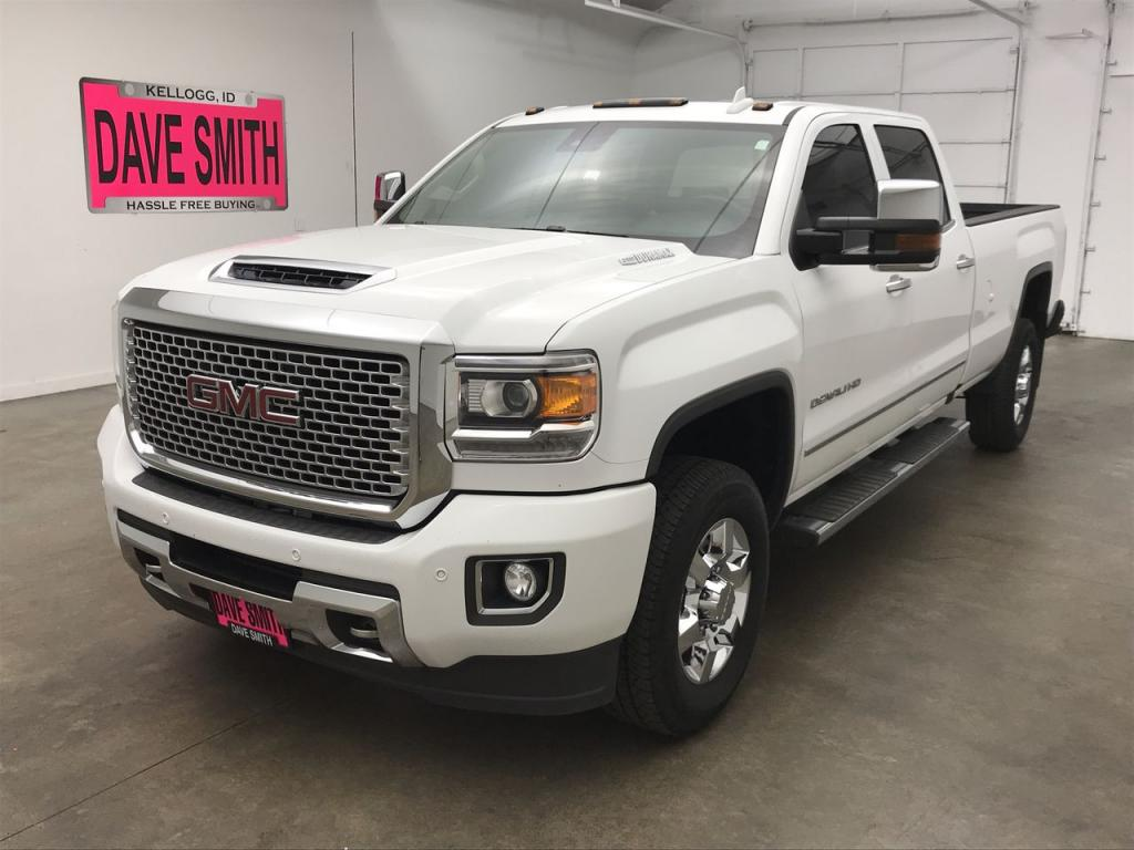Pre-Owned 2017 GMC Sierra 3500 Denali Crew Cab Long Box