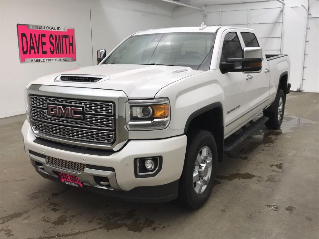 Pre-Owned 2018 GMC Sierra 3500 Denali Crew Cab Short Box