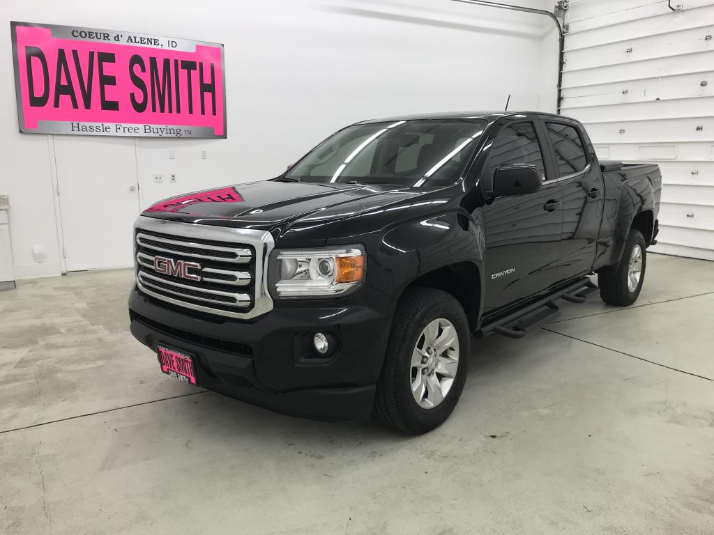 Pre-Owned 2016 GMC Canyon SLE Crew Cab Shot Box