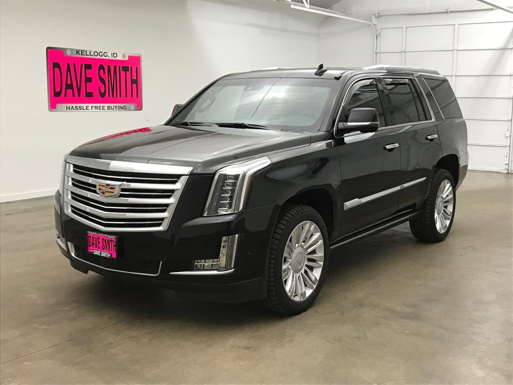 Pre-Owned 2019 Cadillac Escalade Platinum SUV In Coeur D