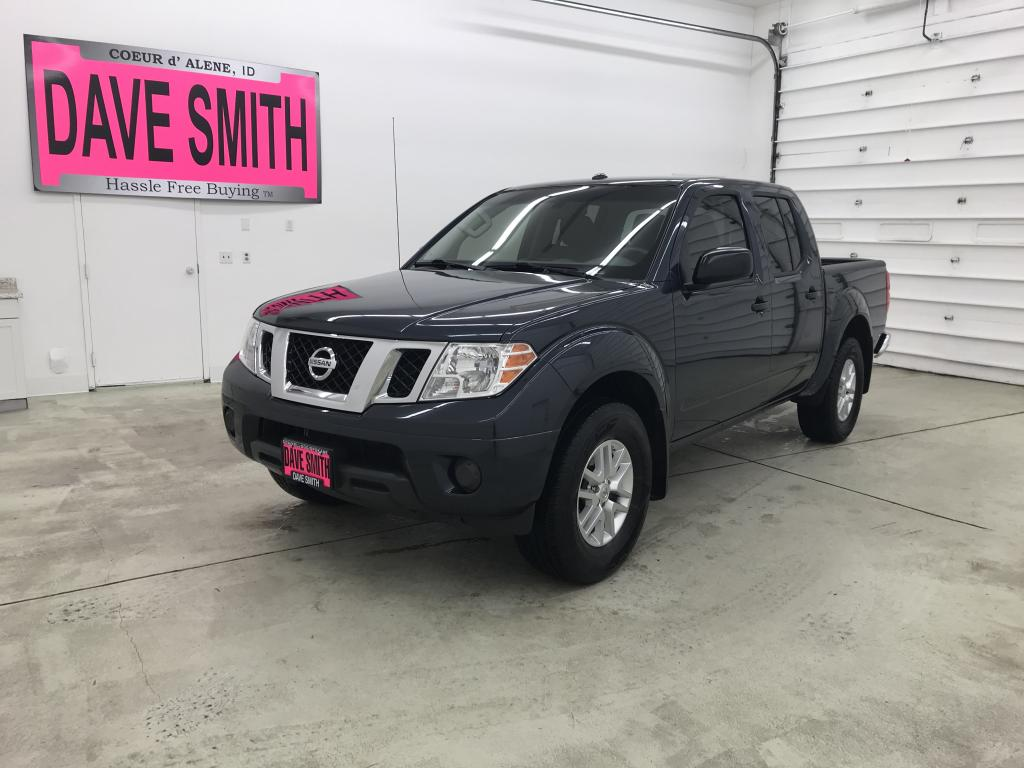 Pre-Owned 2018 Nissan Frontier SV Crew Cab Short Box