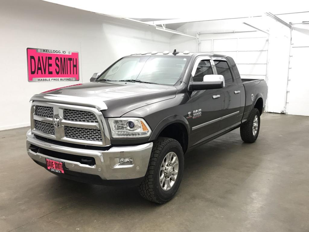 Pre-Owned 2016 Ram 3500 Laramie Crew Cab Short Box