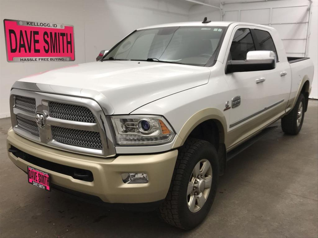Pre-Owned 2015 Ram 3500 Laramie Longhorn Mega Cab Short Box