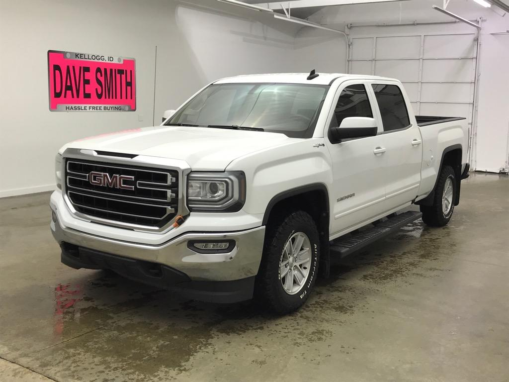 Pre-Owned 2016 GMC Sierra 1500 SLE Crew Cab Short Box