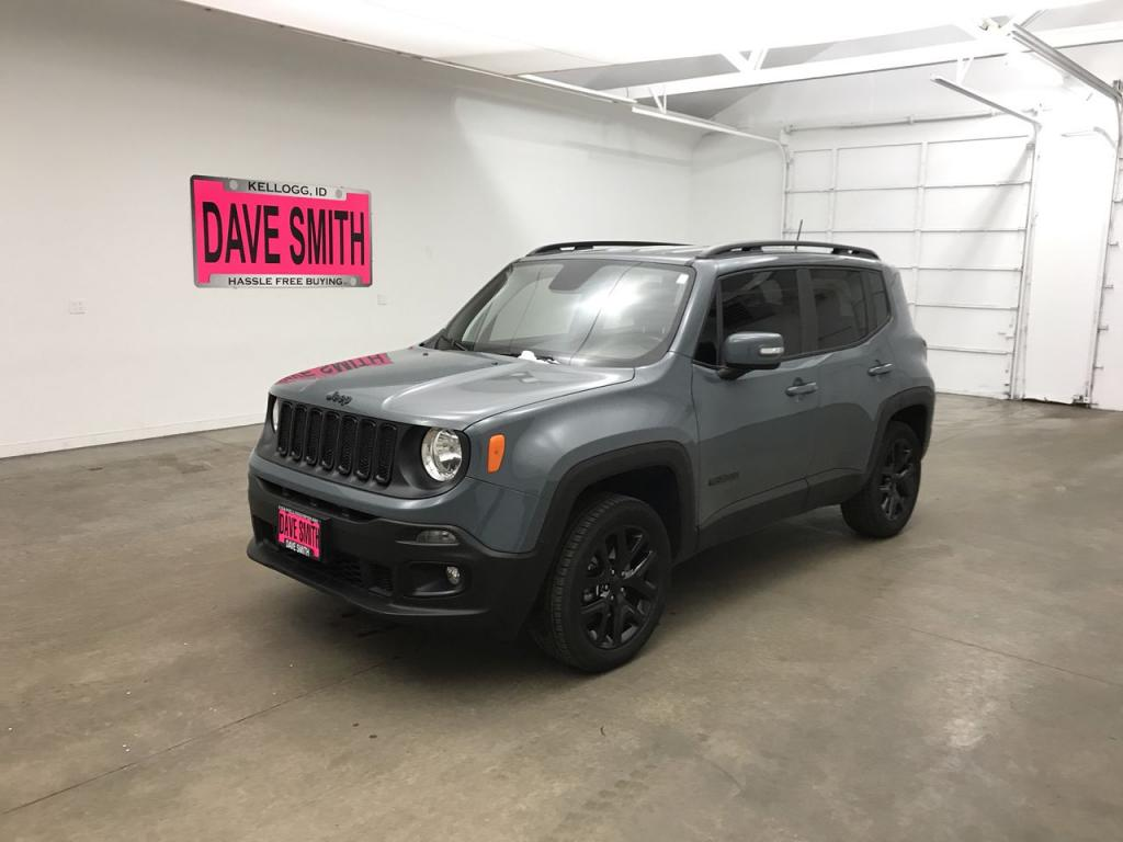 Certified Pre-Owned 2018 Jeep Renegade Altitude