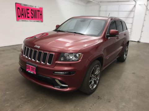 Pre-Owned 2012 Jeep Grand Cherokee SRT8