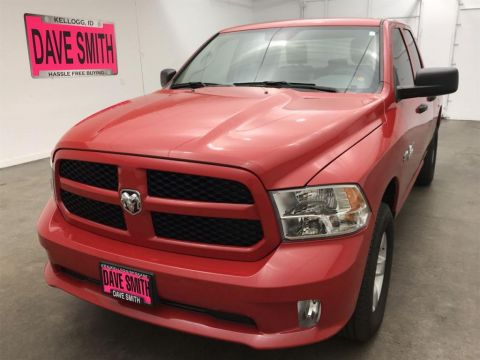 Certified Pre-Owned 2017 Ram 1500 Express Quad Cab Short Box