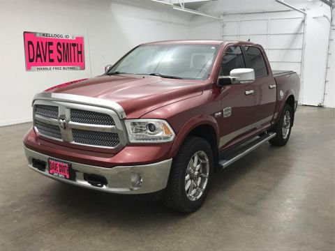 Pre-Owned 2013 Ram 1500 Laramie Longhorn Crew Cab Short Box