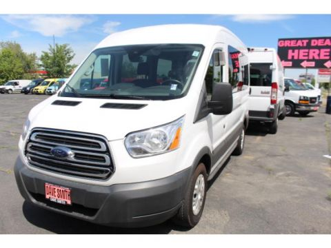 Pre-Owned 2017 Ford Transit Wagon T-150 Med Roof Slide XLT