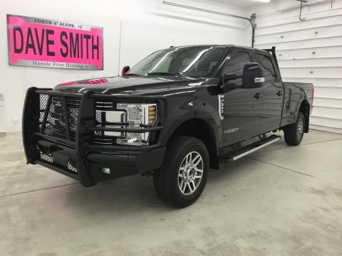Pre-Owned 2018 Ford F-350 Super Duty Lariat Crew Cab Long Box