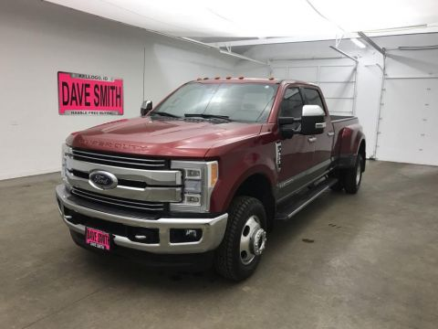 Pre-Owned 2017 Ford F-350 Super Duty Crew Cab Long Box