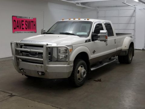 Pre-Owned 2014 Ford F-350 Super Duty Lariat Crew Cab Long Box
