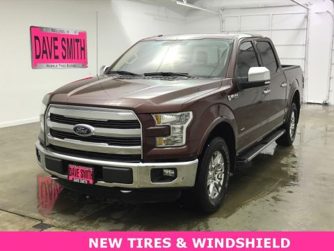 2016 Ford F-150 Lariat Crew Cab Short Box