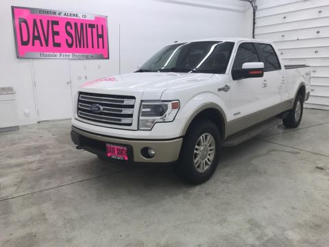 2014 Ford F-150 King Ranch Crew Cab Short Box
