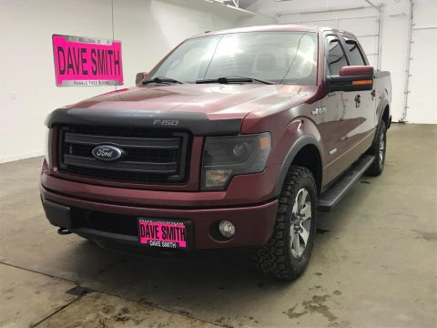 Pre-Owned 2013 Ford F-150 FX4 Crew Cab Short Box