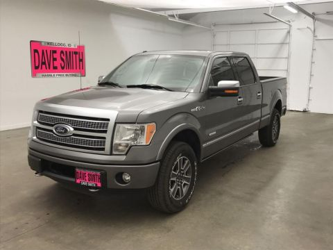 Pre-Owned 2012 Ford F-150 Platinum Crew Cab Short Box