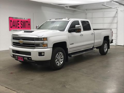 Pre-Owned 2019 Chevrolet Silverado 3500 High Country Crew Cab Long Box