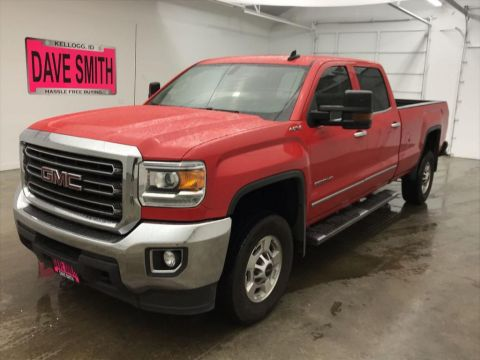 Pre-Owned 2017 GMC Sierra 2500 SLE Crew Cab Long Box