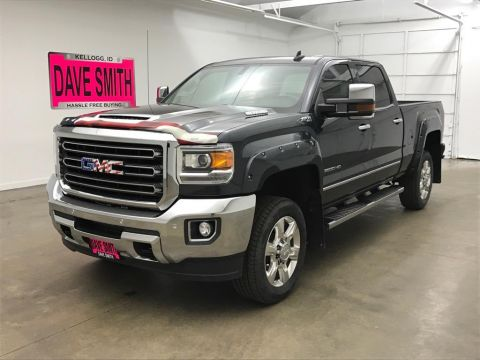 Pre-Owned 2017 GMC Sierra 2500 SLT Crew Cab Short Box