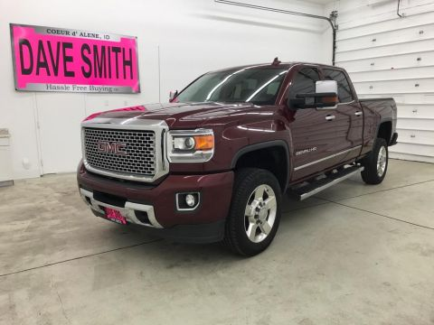 Pre-Owned 2016 GMC Sierra 2500 Denali Crew Cab Short Box