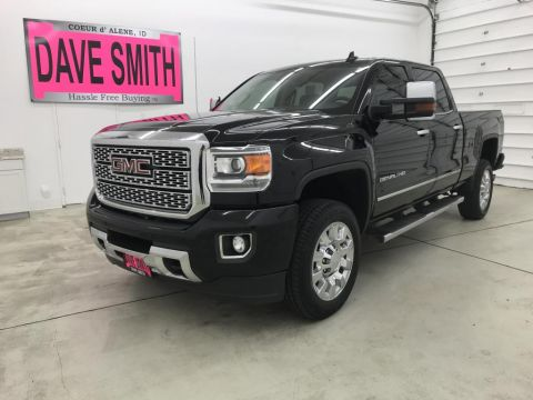 Pre-Owned 2018 GMC Sierra 2500 Denali Crew Cab Short Box