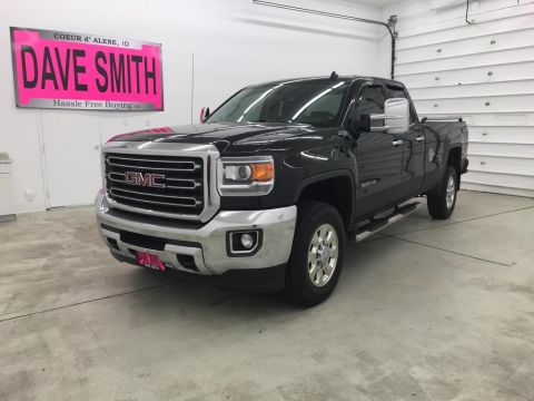 Pre-Owned 2015 GMC Sierra 2500 SLT EXT Cab Long Box