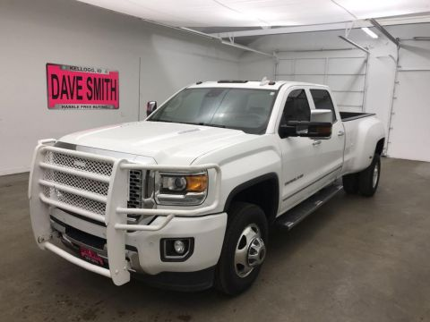 Pre-Owned 2015 GMC Sierra 3500 Denali Crew Cab Long Box