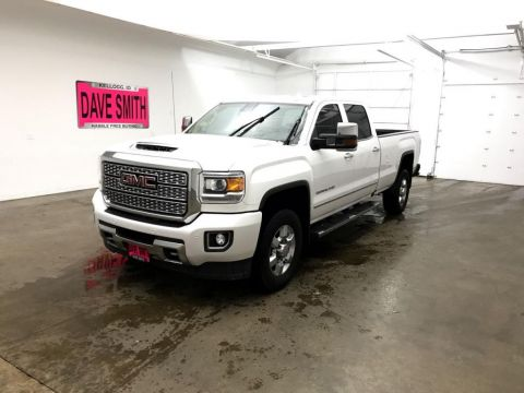 Pre-Owned 2018 GMC Sierra 3500 Denali Crew Cab Long Box