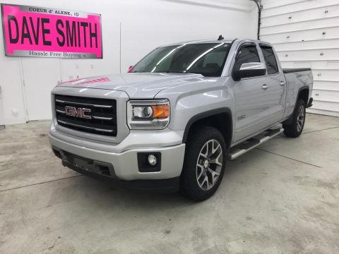 Pre-Owned 2014 GMC Sierra 1500 SLT Double Cab Short Box