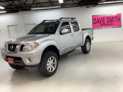 Pre-Owned 2014 Nissan Frontier PRO-4X Crew Cab Short Box