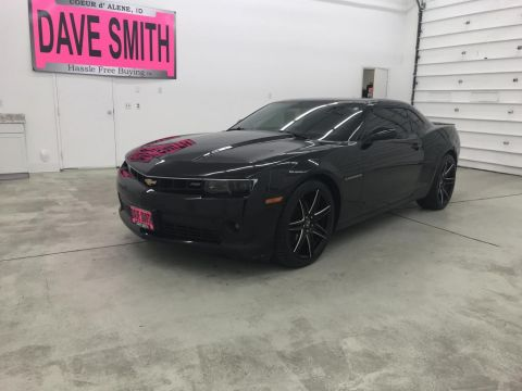 Pre-Owned 2015 Chevrolet Camaro RS
