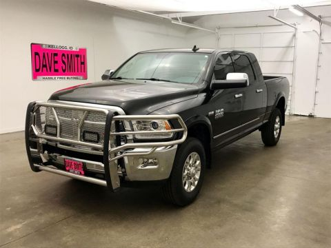Pre-Owned 2017 Ram 2500 Laramie Mega Cab Short Box