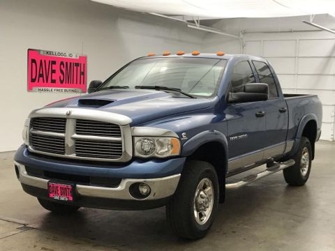 Pre-Owned 2005 Dodge Ram Pickup 3500 SLT Quad Cab Short Box