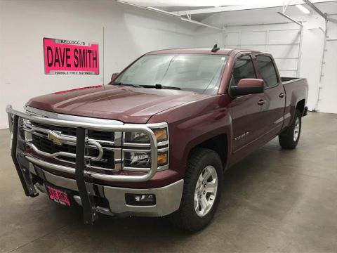 Pre-Owned 2015 Chevrolet Silverado 1500 LT Crew Cab Short Box