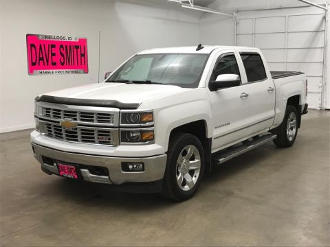 Pre-Owned 2015 Chevrolet Silverado 1500 LTZ Crew Cab Short Box