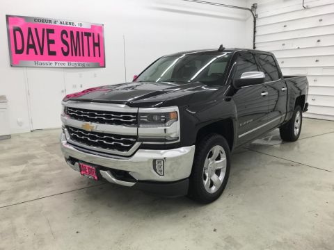 Pre-Owned 2018 Chevrolet Silverado 1500 LTZ Crew Cab Short Box