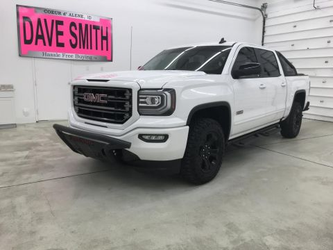 Pre-Owned 2017 GMC Sierra 1500 SLT Crew Cab Short Box