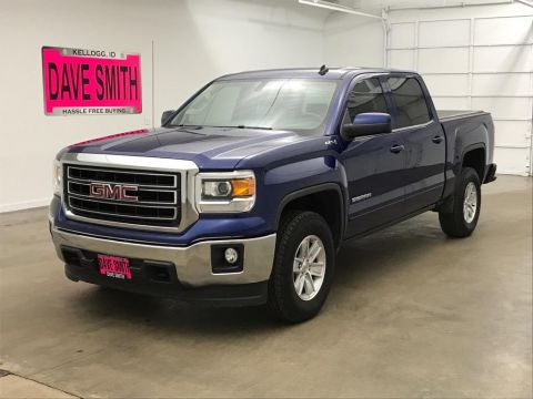 Pre-Owned 2014 GMC Sierra 1500 SLE Crew Cab Short Box